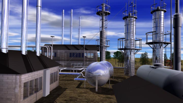 Gibsons – Moose Jaw Refinery Animation