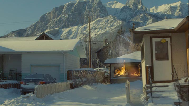 Visual Effects – Fire Before and After