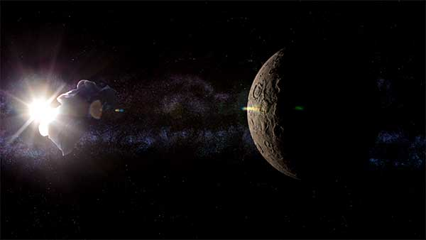 Scene from Infinitude – Compositing