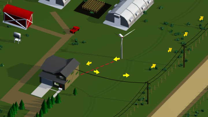 ENMAX – Small Wind Turbine to Grid Animation