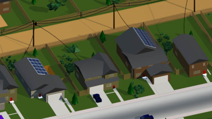 ENMAX – Solar Rooftop Panel Animation