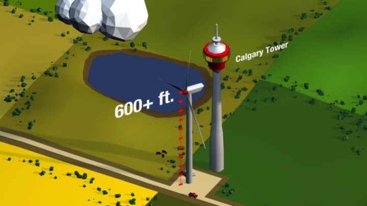 ENMAX – Wind Turbine Structure Animation