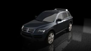 VW Touareg Black