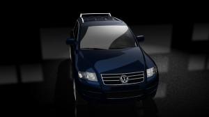 VW Touareg Blue