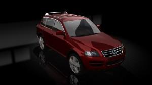 VW Toureg Red