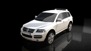 VW Touareg White