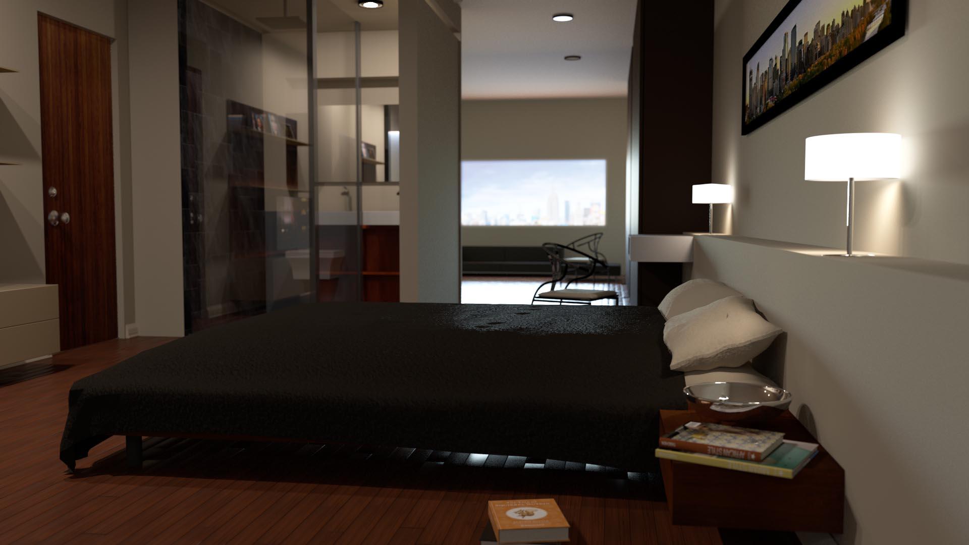 Architectural Render Interior Animation